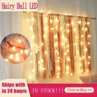 Guirlande lumineuse rideau a 20led  2M  pour fenetre  decoration feerique  nouvel an  noel  maison  mariage  lampe de Table