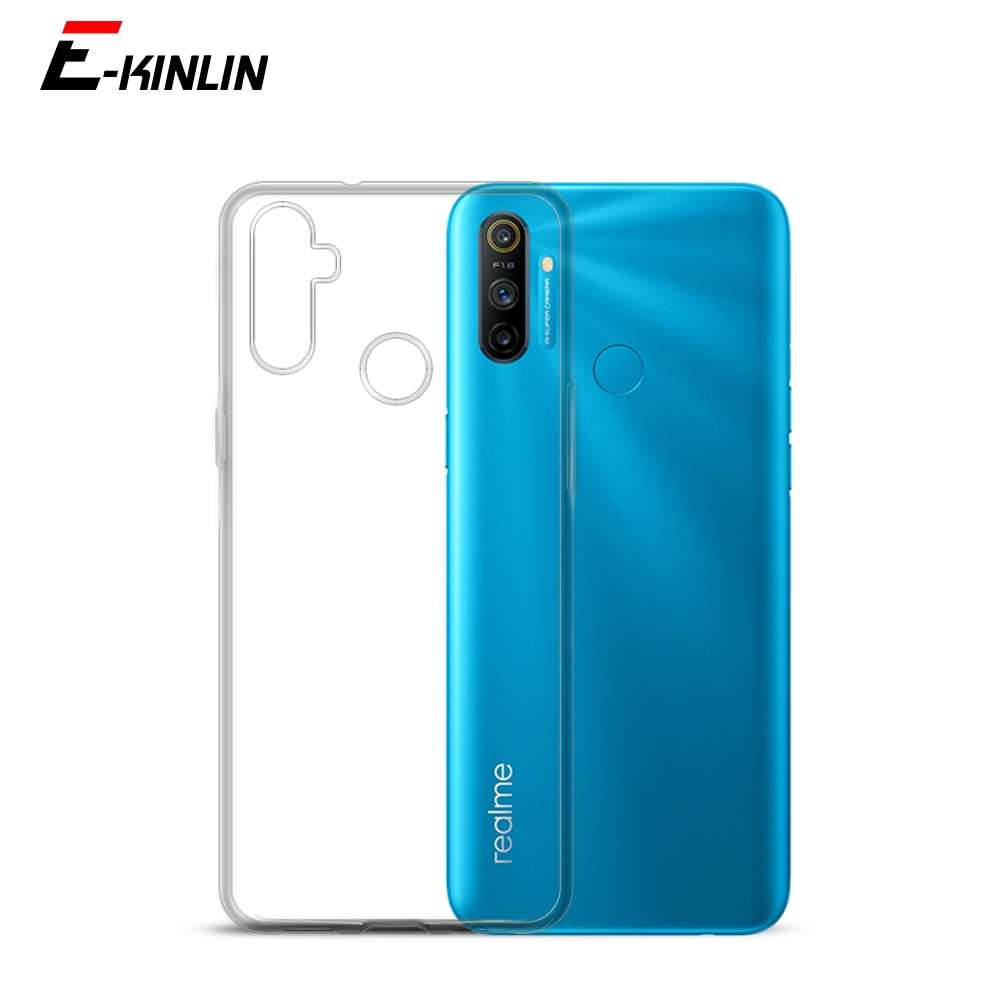 Silicone UltraThin Clear Soft Cover For Oppo Realme 7i 7 5G 6i 5i 5 5s 6S 6 3 C17 C3i C11 C15 C3 C2