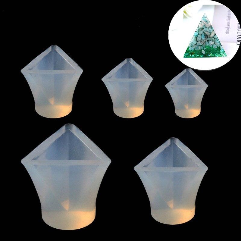 Силиконовая форма треугольная Смола силиконовая форма ручной работы DIY эпоксидная смола для изготовления ювелирных изделий полимерные фор...