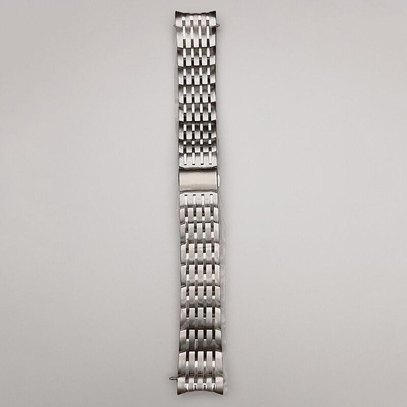 Correa DE reloj DE acero inoxidable DE alta calidad, repuesto DE pulsera...