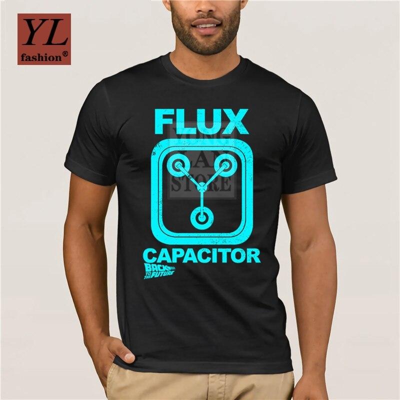 Nueva moda, camiseta estampada a la moda para hombre, 100% condensador de algodón negro Flux, camiseta moderna con gráfico creativo, camiseta con personalidad