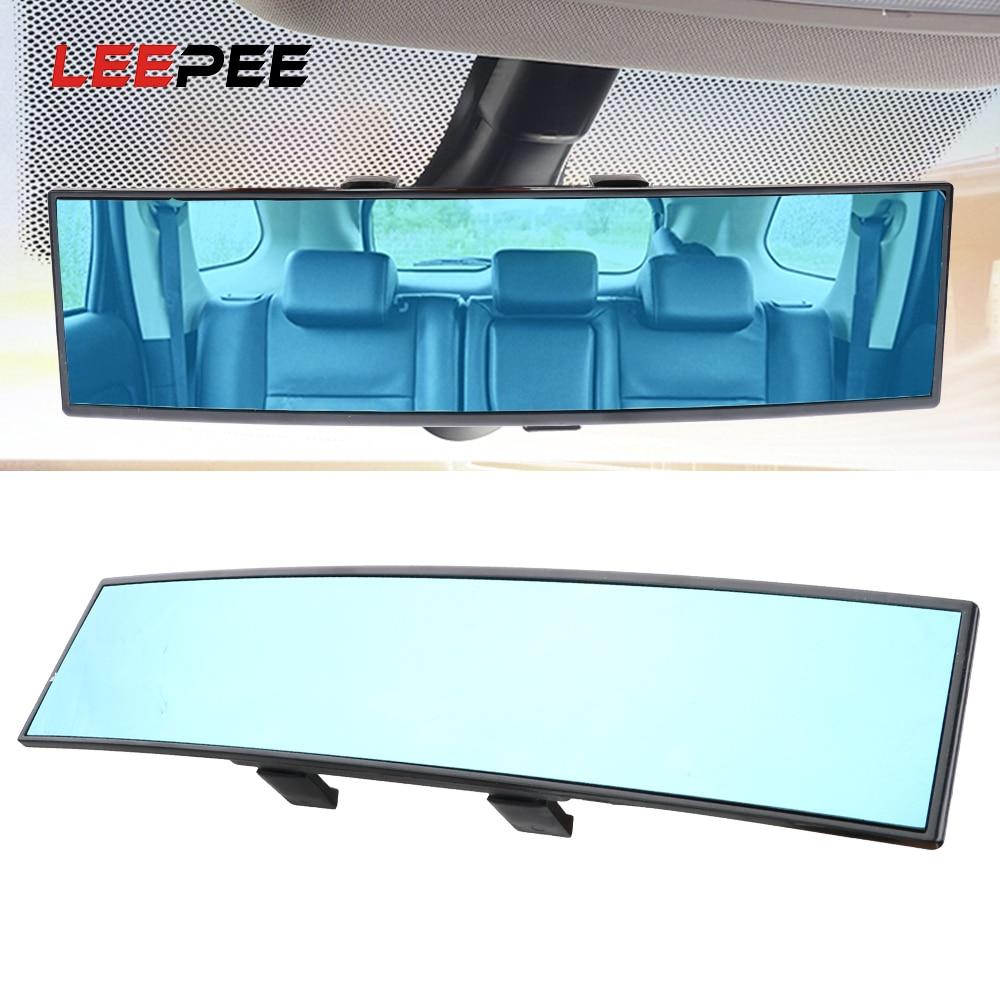 LEEPEE, accesorios para coche, espejo retrovisor panorámico de ángulo, espejo retrovisor del coche, amplia visión, espejo retrovisor para bebé, antirreflejo