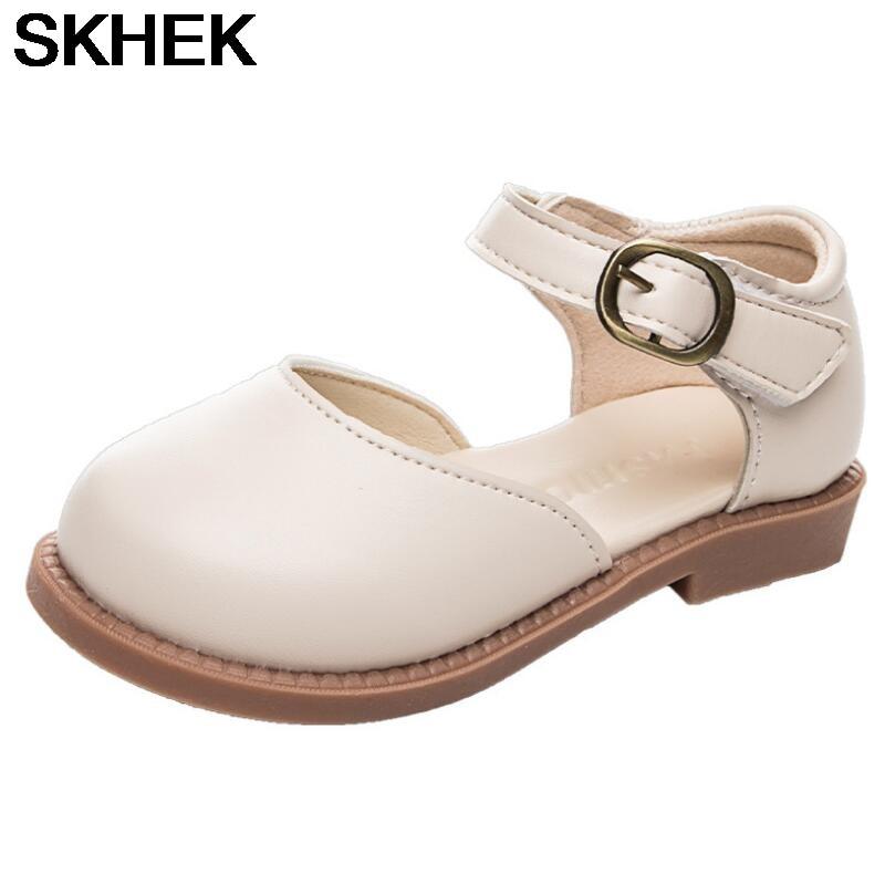 SKHEK Lovely Girls Sandals Shoes Infant Kids Baby Single Princess zapatos para nino Summer sandalia