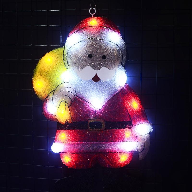 Toprex 2D Papá Noel de navidad exterior led de decoración fiesta de...