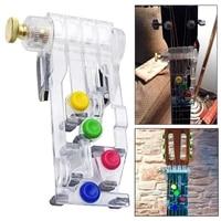 Systeme dapprentissage des accords de guitare en plastique  aide a lenseignement a la maison  Portable avec des choix  outils a une touche  accessoires de pratique  aide aux debutants