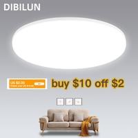 Светодиодный светильник-панель 15 Вт 20 Вт 30 Вт 50 Вт, Круглый пуховый светильник 220 В, светодиодный потолочный светильник s, современный потоло...