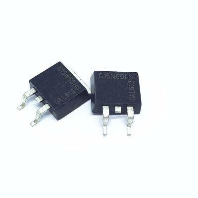 4 pçs/lote SGB15N60HS PARA-263 SGB15N60 TO263 G15N60HS