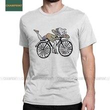 Hommes T-Shirt vélo jour Albert Hofmann impressionnant coton t-shirts à manches courtes Lsd acide buvard fête t-shirts col rond vêtements