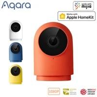 Aqara     camera intelligente 1080P G2H gateway  edition Zigbee  Wifi  Vision nocturne  securite sans fil  pour application HomeKit Mijia