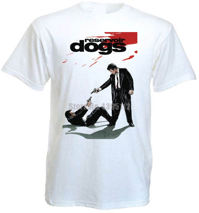 Reservoir Dogs Movie Men Satanism Tshirts Trump T-Shirts Weird Shirt Casual Shirts Black Top Iyondf