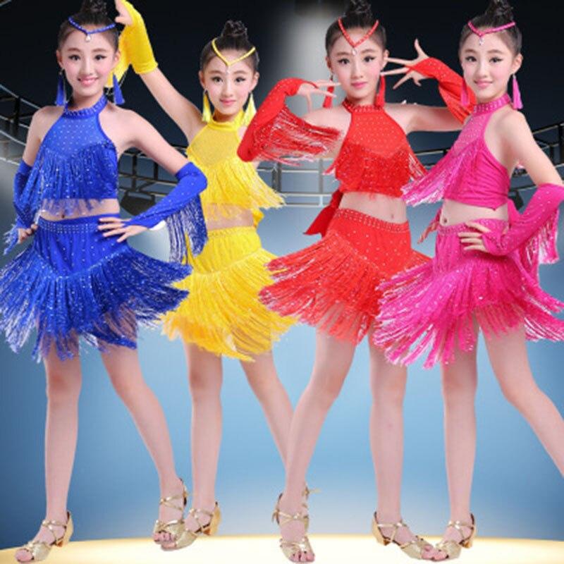 Children's Latin dance clothes girls sequins tassels Latin skirts children's Latin clothes competition costumes corpus scriptorum historiae byzantinae volume 44 latin edition