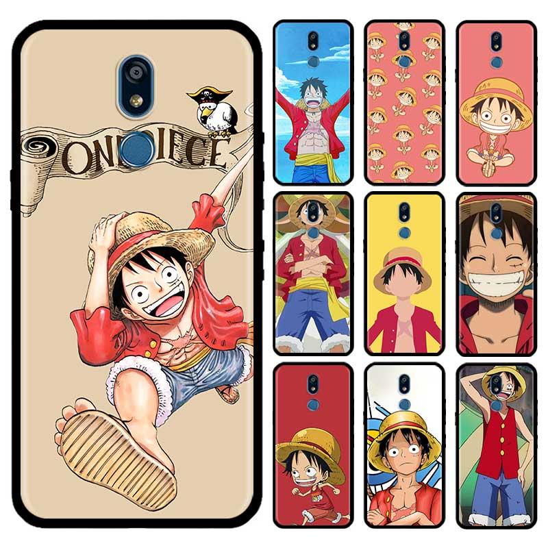 One Piece Monkey D Luffy Caso Para LG G6 G7 G8 ThinQ K40 K40s Q51 Q60 Q61 Q70 K41s K50s K51s K61 Capas de Telefone Tpu Carcasa