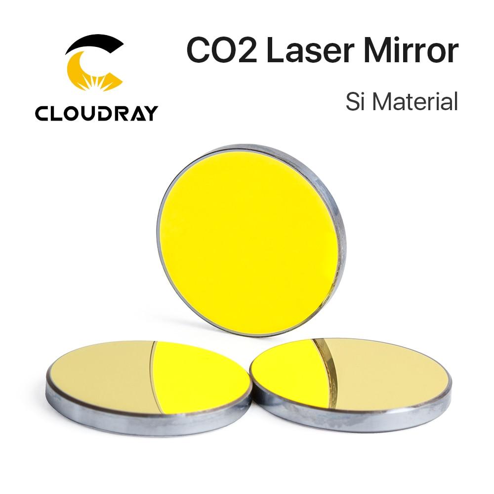 Cloudray-مرايا عاكسة ، لجهاز Co2 الحفر بالليزر ، سيليكون مطليّ بالذهب, مرايات بقطر. 19 20 25 30 38.1 مللي متر