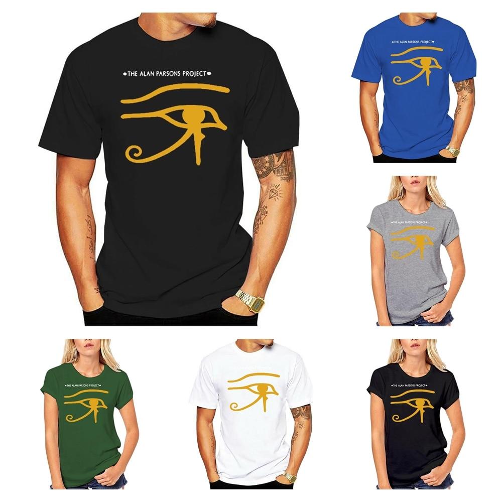 Camiseta de Alan Parsons Project para hombre y mujer, camisa de moda...