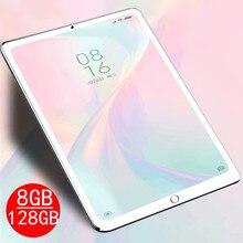 2020 NUOVO 8GB di ram + 128GB di rom Tablet da 10.1 pollici Android 9.0 Octa Core Tablet pc 3G 4G LTE Wifi IPS Dual SIM CARD GPS COMPRESSE