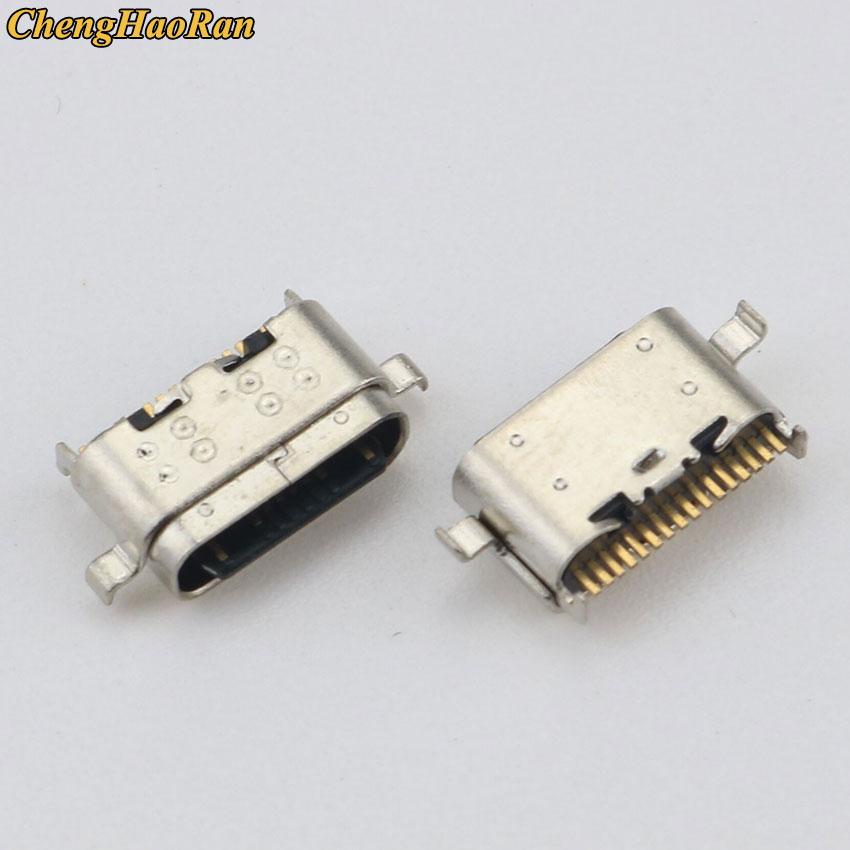 ChengHaoRan-puerto de carga de Conector Micro USB para ASUS ZenFone 6, 2019, ZS630KL, Lenovo P10, TB-X705F, 1 Uds.