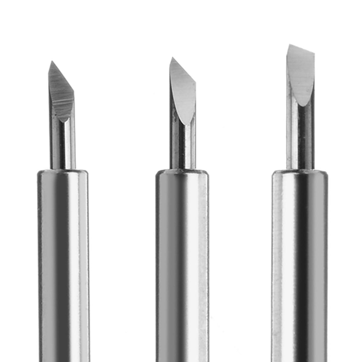 25pcs 30/45/60 Degree Roland Cricut Cutting Plotter Vinyl Cutter Knife Blades Offset Cricut Machine for Sharp & Carving Tools enlarge