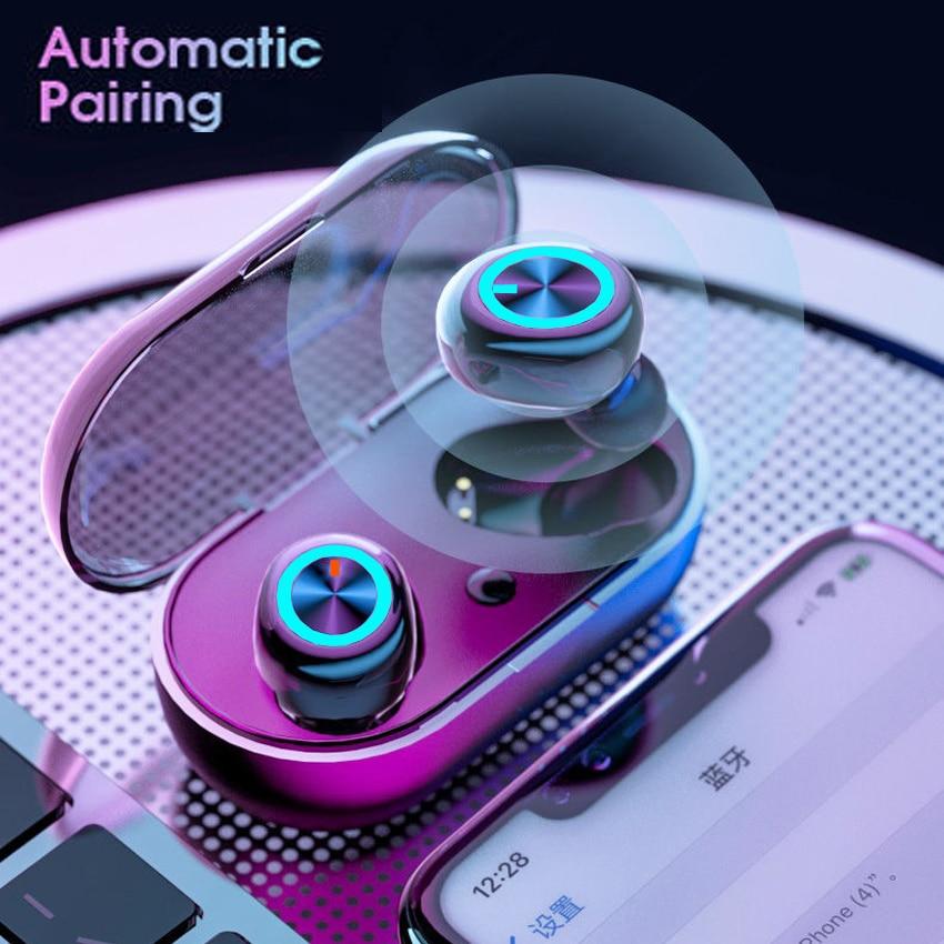 Q2 Bluetooth Earphones IPX7 Waterproof Headset Deep 6D Bass Earrings Real Wireless Stereo Headphones Sport Headphones enlarge