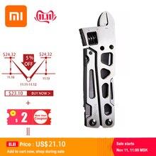 Xiaomi mijia nextool 9 in 1 다기능 스테인레스 스틸 자전거 수리 도구 필드 생존 수리 도구 야외 접는 나이프