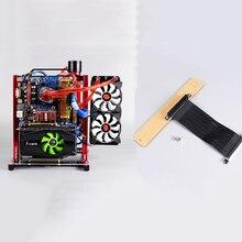 Module de câble dextension banc dessai de cadre de PC étagère de coque dordinateur de câble PCI-E