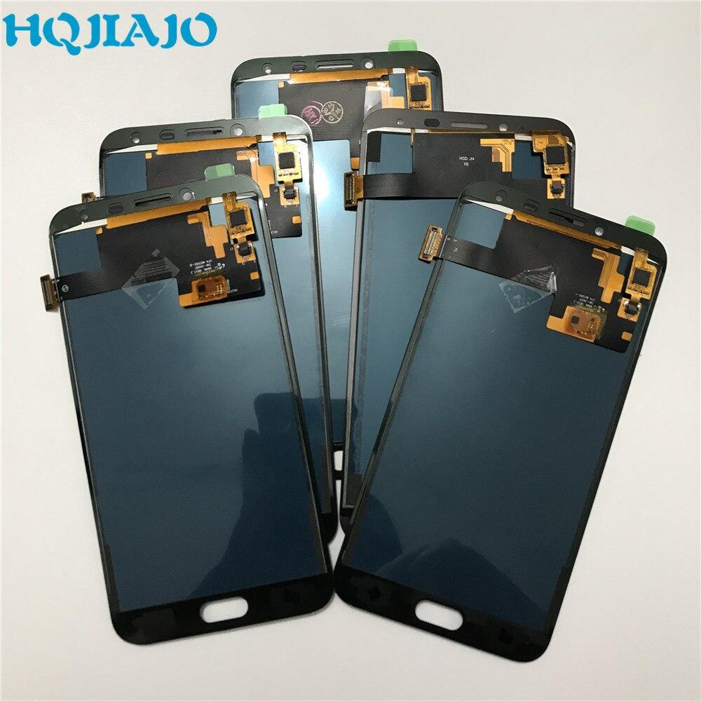 5 unids/lote para Samsung LCD Display J400 AJUSTE DE digitalizador de pantalla táctil para Samsung Galaxy J400F J400f/ds 2018 montaje LCD J4