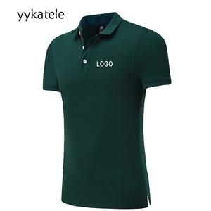 2020 New yykatele custom Polo shirt with DIY custom print, full Color  design, work uniform work clothes company