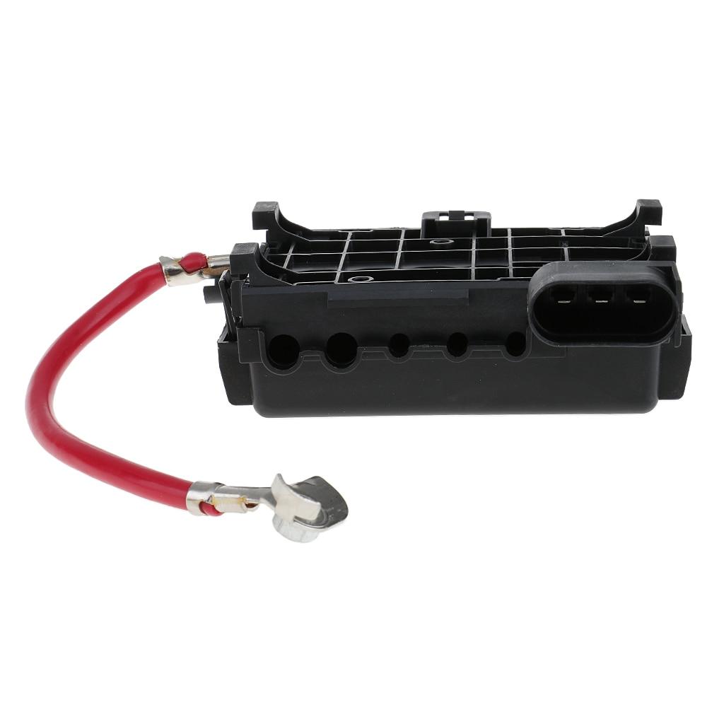 Caja de fusibles de batería de coche conector de 3 pines para VW Jetta Golf Beetle 1J0 937 550A/B