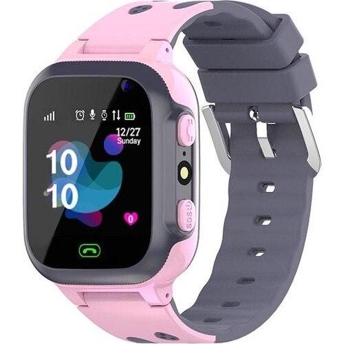 Inteligente da Criança do Cartão de Smartbell Relógio Sim-rosa Q539 – 2021