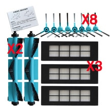 Vacuum Cleaner Parts for Cecotec Conga 3090 Series Roller Brush Hepa filter Side Brush Water Tank Fi
