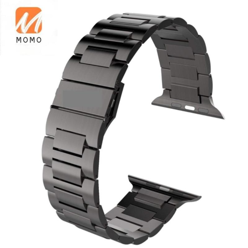 أحدث صيحات الموضة الفولاذ المقاوم للصدأ حزام ساعة اليد