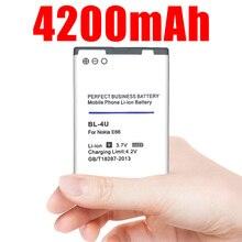 4200mAh BL-4U BL4U BL 4U Li-ion Phone Battery for Nokia 3120c 5250 206 515 5330 5530XM XpressMusic 5730 6212c