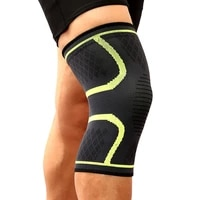 running cycling knee support fitness braces elastic nylon sport compression knee pad sleeve for basketball volleyball