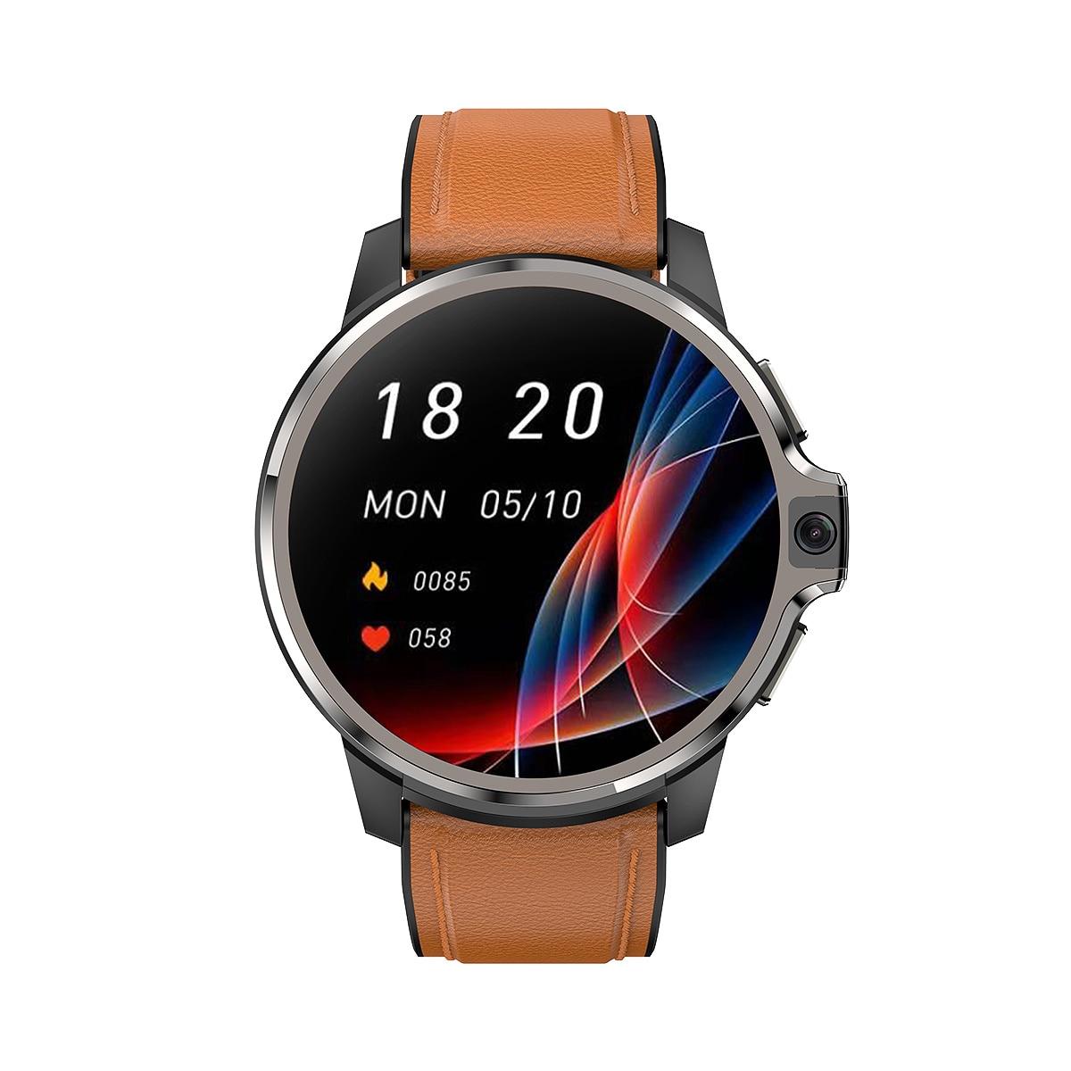Get DM30 4G Smartwatch RAM 4GB ROM 64/128GB Smart Watch Android 9.1 GPS Wifi Dual System 1050Mah Battery 1.6 Inch HD DM20 DM100