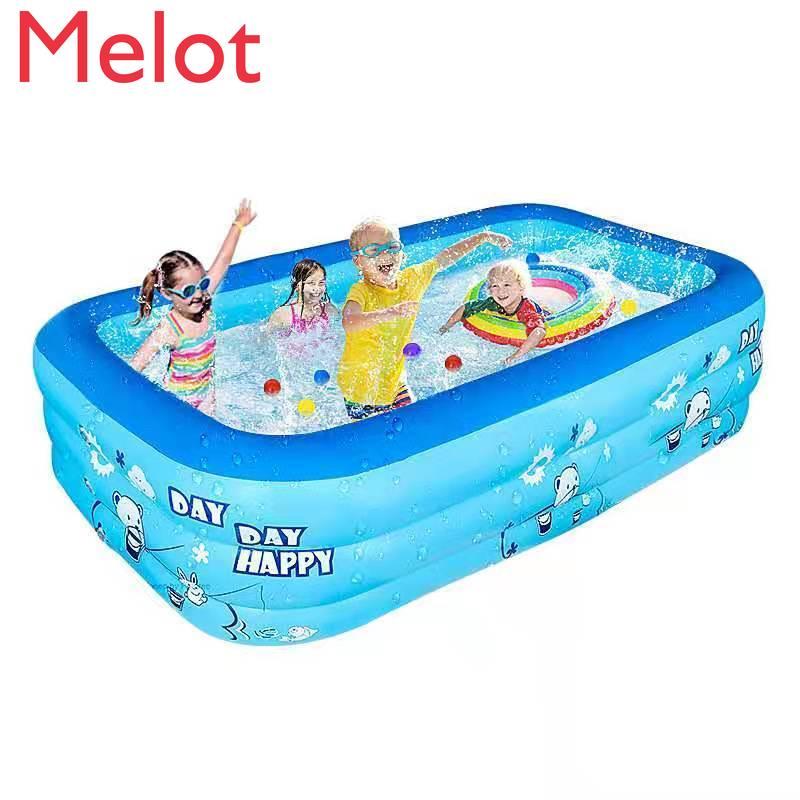 حمام سباحة قابل للنفخ للأطفال حمام سباحة قابل للنفخ حمام سباحة كبير الحجم