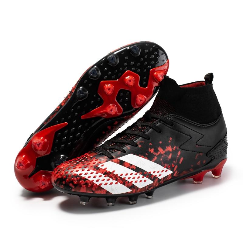 2021 Мужская обувь для футбола, большие размеры, ультралегкие футбольные бутсы, кроссовки для мальчиков, Нескользящие футбольные бутсы AG/TF бутсы для мальчиков demix quantum ps tf размер 32