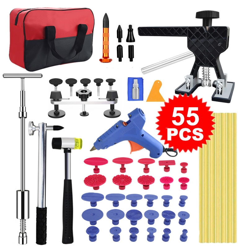 Car Body Paintless Dent Repair Tools Kit for Automobile Motorcycle Refrigerator Remove Hail Damage