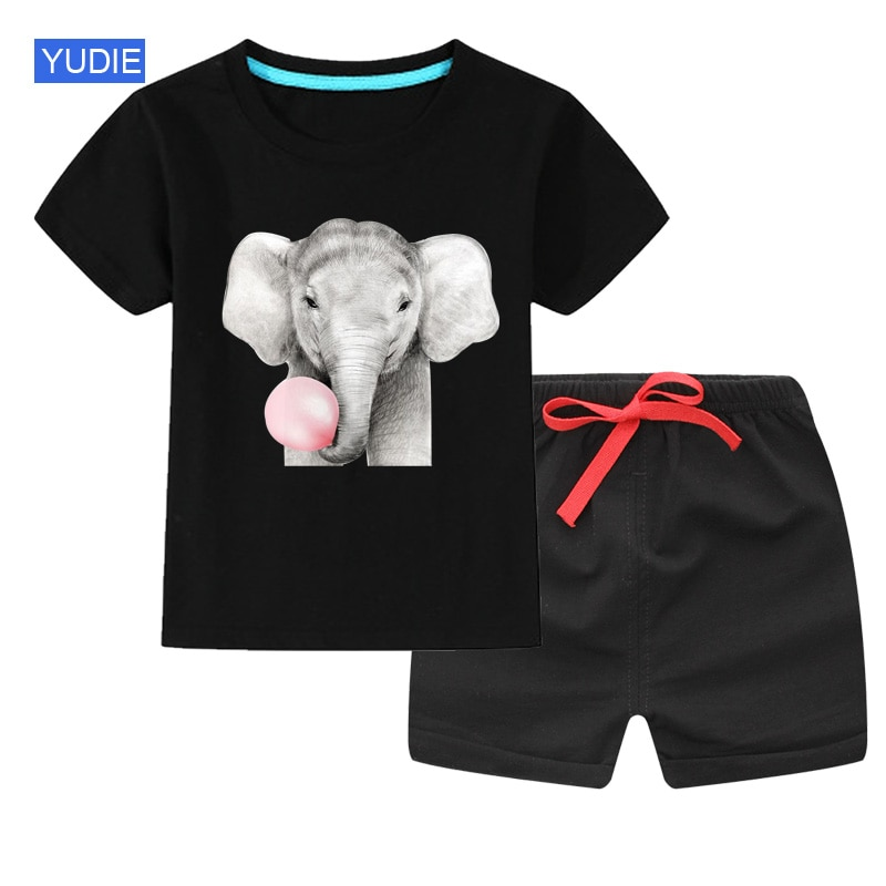 fashion striped kids girls clothing sets summer newborn baby girls clothes cotton tops pant children clothes suits 1 5 years Kids Clothes Set Boys Summer Children Clothing T Shirt+Short Pant 2 PCS Sets Toddler Baby Girls Cotton Sets Cartoon Sport Suits