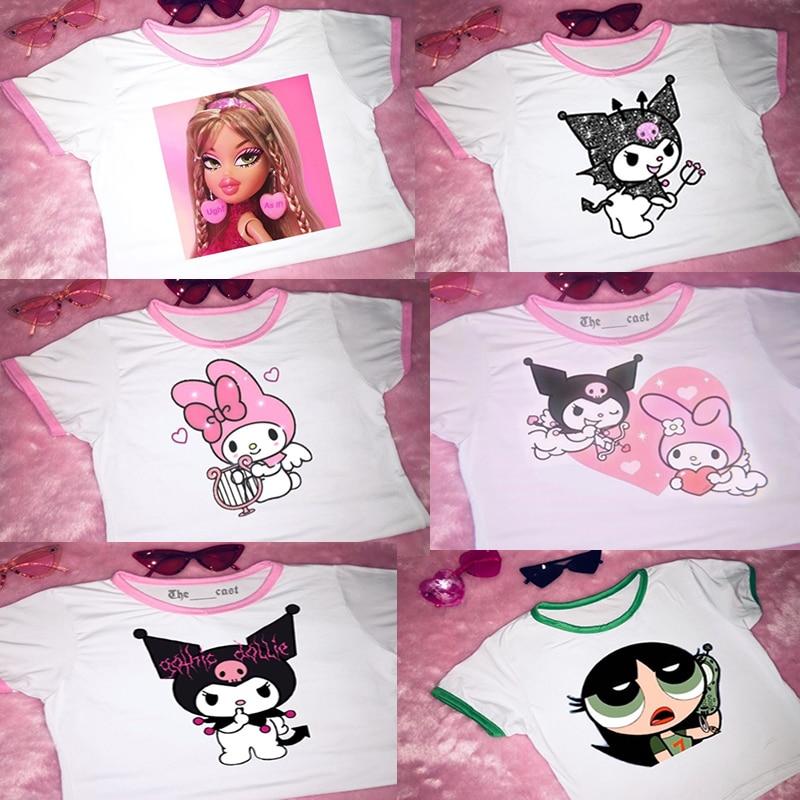 Harajuku T-shirt y2k  T-shirt bratzaesthetic T-shirt bratz T-shirt Sweet T-shirt Exclusive original T-shirt