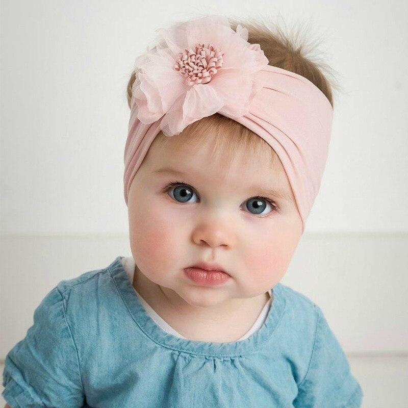 Diademas de flores para niñas pequeñas, tocado para la cabeza, accesorios para...