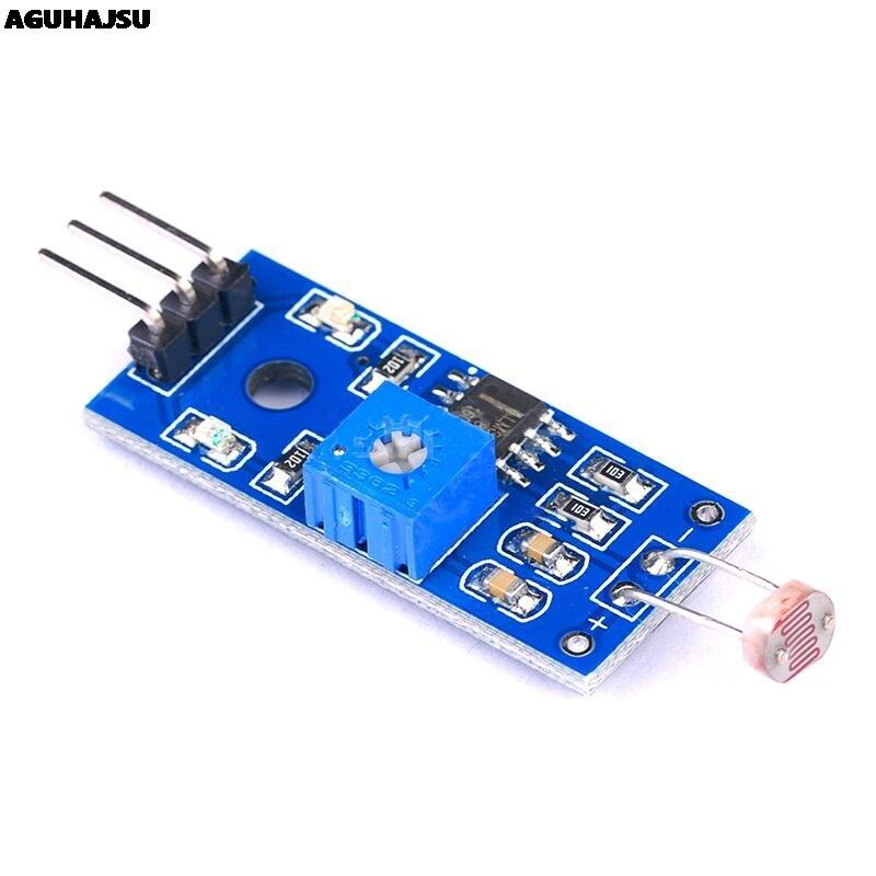 Photosensitive brightness resistance sensor module Light intensity detect New For Arduino