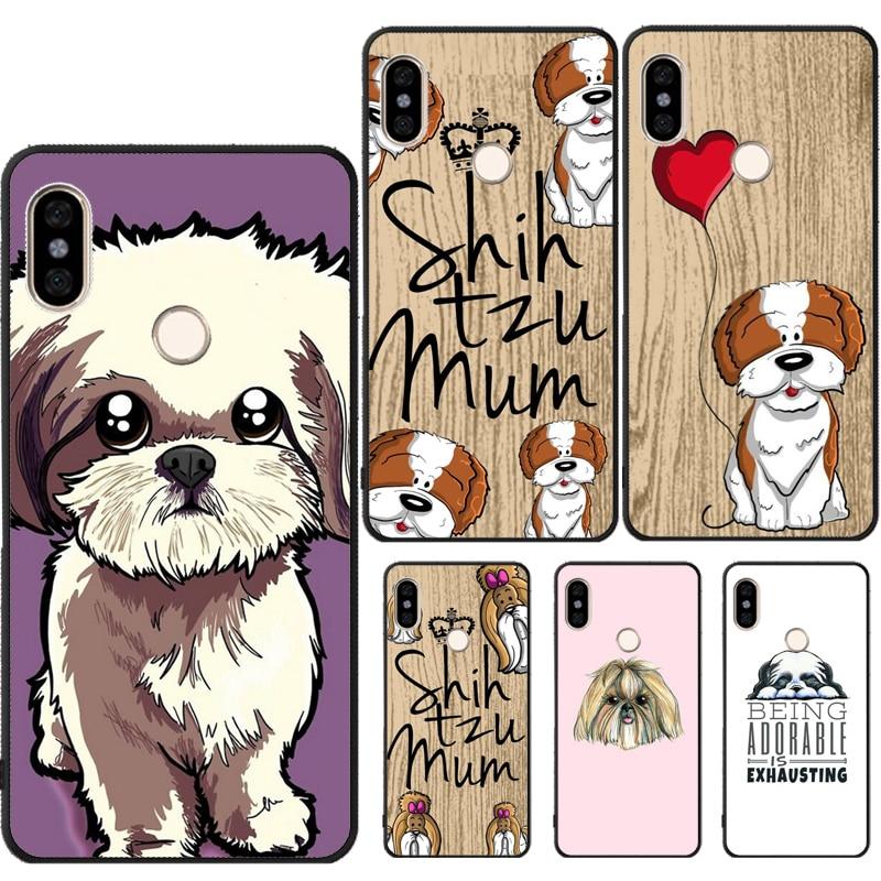 Чехол с рисунком собаки Shih Tzu для Xiaomi Redmi Note 8 9 Pro 9S 7 8T 7A 8A K30 Mi A3 9T SE 10 Pro Note10 Max3 Mix3