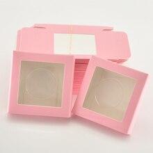 Großhandel papier wimpern verpackung box lash boxen verpackung nach eigenen logo faux cils 25mm nerz wimpern platz fall groß anbieter