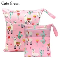 reusable maternity diaper bag double pockets for diapers nappies waterproof pul stroller diaper wet bag wetbag 2025 3036cm