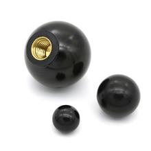 Tête écrous de serrage plastique 6 tailles   Filetage cuivre, bouton de noyau de boule, bouton écrous de serrage M4/M5/M6/M8/M10 1 pièces