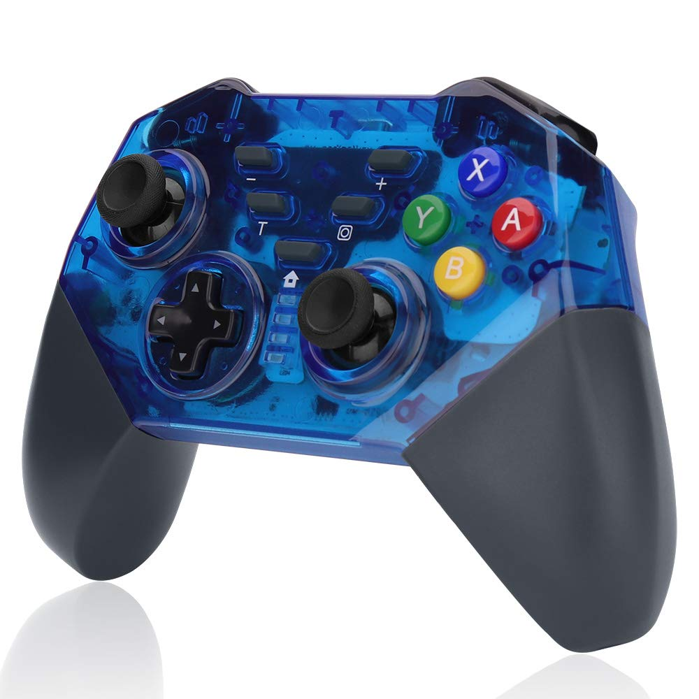 Wireless Switch Pro Controller, Support:Gyro Motion Controls Shock,Great for Nintendo Switch/Splatoon 2/Star Allies