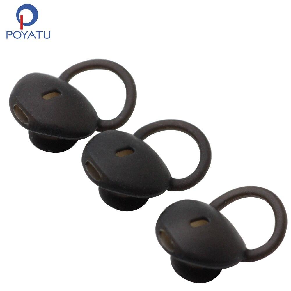 POYATU силиконовые ушные крючки наконечники для наушников для Huawei talkband B5 Talk ремешок для умного браслета Bluetooth гарнитура наушники силиконовые