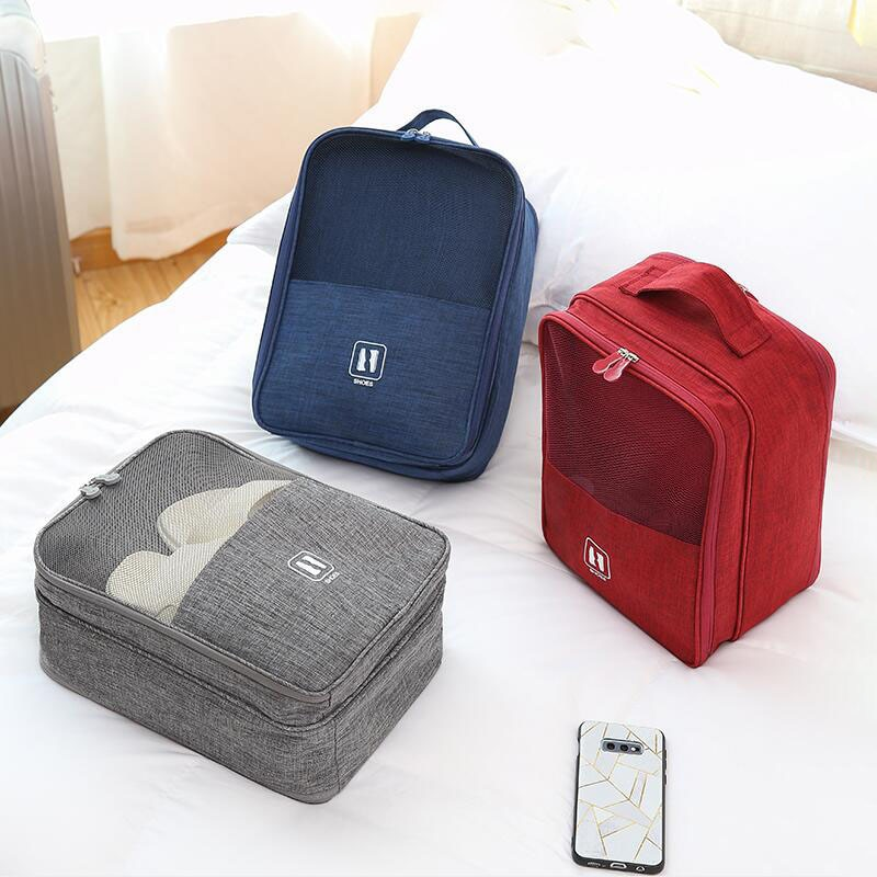 Waterproof Travel Shoe Storage Bag Overnight Carry Tote Pouch Large Capacity Boot High Heel Protective Case Dustproof Organizer недорого