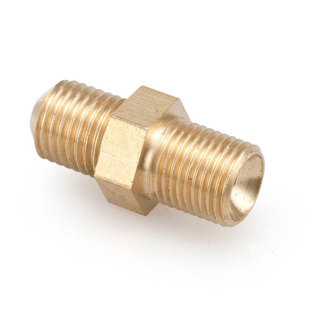 """Conector de alimentación de aceite Turbo de latón de 0,9mm (0.035 """") para GT28/GT30/GT35R"""