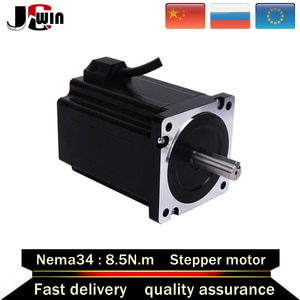 Fast shipping!Stepper Motor NEMA 34 8.5N.m 6A 118mm-Length  D14mm nema34 motor  1240Oz-in for CNC Router Motor