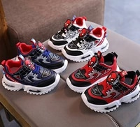 spiderman disney cool kids shoes new hot sales baby girls boys sneakers toddlers 5 stars excellent sports children shoes